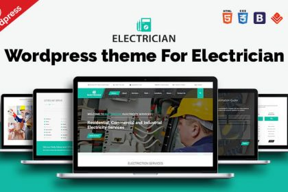 Electrician WP Theme