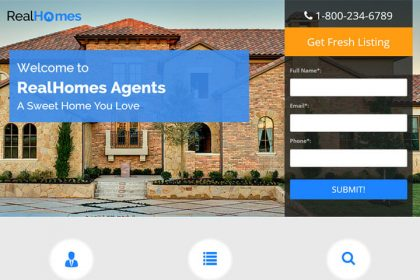 Dream Home Landing Page