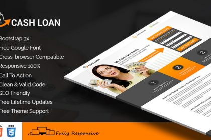 Cash Loan Squeeze Page